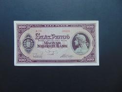 100 pengő 1945 E 151  01  Hajtatlan bankjegy