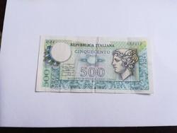 1976-os 500 Lira olasz
