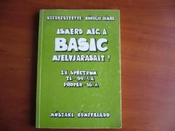 ISMERD MEG A BASIC NYELVJÁRÁSAIT - könyv régi-MPL csomagautomatába is mehet