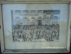 2 darab rézkarc 1848 1849 Kossuth  Petőfi