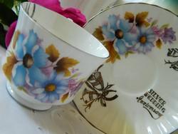 Royal Stafford angol teás, kávés szett, csésze kistányér házassági évfordulóra
