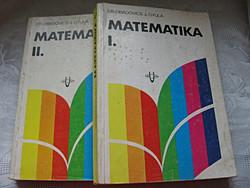 Obadovics Matematika I.II.