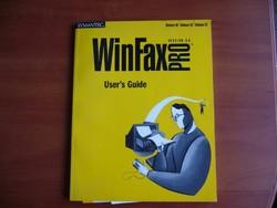 WIN FAX PRO ver.9.0 SYMANTEC -- könyv régi -MPL csomagautomatába is mehet