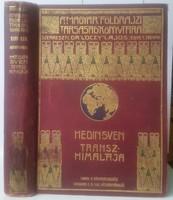 Hedin Sven Transzhimalája felfedezések és kalandok Tibetben XIII-XIV kötet átdolgozta Kondor Alfréd