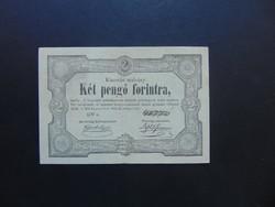 2 pengő 1849 Kossuth bankó ! Szép ropogós bankjegy