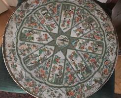 Antik kínai famille verte porcelán