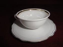 CT. Hutschenreuther - ARZBERG - Bavaria német porcelán kávéscsésze + alátét.