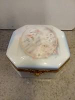Limoges porcelán ékszertartó, bonbonier