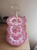 Wedgwood angol porcelán emeletes kínáló 35 cm