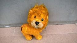 Régi oroszlán játék figura