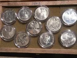 10db ezüst 5 márka