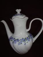HUTSCHENREUTHER GRUPPE  német porcelán teakiöntő, A kancsó teteje különleges.