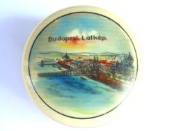 Budapest látképes bonbonier