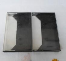 Kazettatok - retro műanyag tok kazettához (fekete)