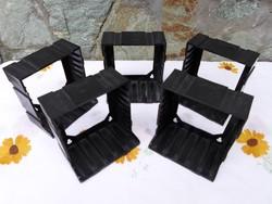 Retro kazettatartó - műanyag tároló kazettához 2.