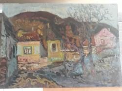 Marosán Lajos képcsarnokos festmény eladó