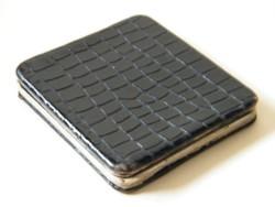 Régi német (DRGM) cigarettatárca bőrből