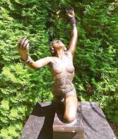 Bronz szobor  tornász / balerina nagy méret