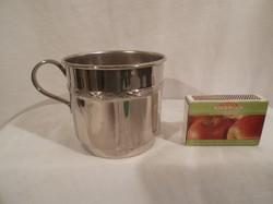 Fém - teaszűrő bögre alakú  - exkluzív fémből - 7 x 6,5 cm