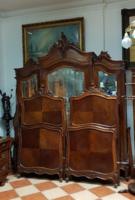 Restaurált bécsibarokk hálószoba bútor garnitúra