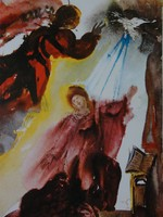 Dali: Jézus születésének hírül vitele