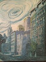 Festmény New York télen !