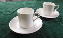 Angol porcelán Wedgwood kávés csésze szett