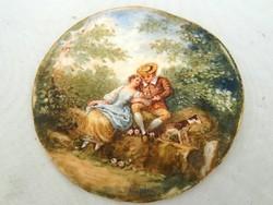 1, Pastorale di apres Boucher / 2, Les deriecheus de artis Watteau
