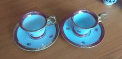 Retro PM Germany porcelán kávés csésze és alj.3000.-Ft