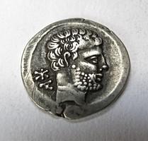 IBERIA, Bolskan. Circa 80-72 BC. ezüst Denar.