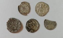 Középkori ezüst lot