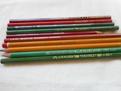 Régi ceruzák (10 db)