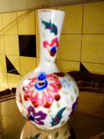 Szecessziós majolika váza