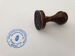 Régi fa bélyegző József Attila Tudományegyetem Szeged