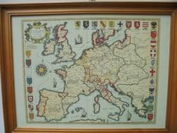 Európa 1500-ban térkép