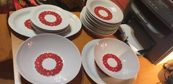 Colditz 22 darabos tányérkészlet.