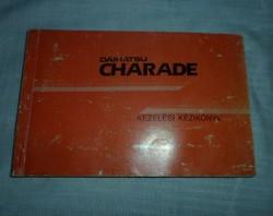 Daihatsu Charade kezelési kézikönyv (személygépkocsi, retro útmutató)