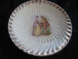 Antik Körmöcbányai , ritkán látható , fali tányér 543 sz. mérete 178 mm