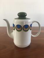 Hibátlan retro, vintage Seltmann Weiden porcelán teáskanna, kávéskanna