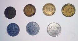 Deutsche Peenig.-   Deutsche Mark-
