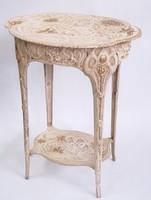 Szecessziós virágtartó asztal -art nouveau virágállvány