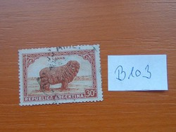 ARGENTÍNA 30 C 1936 - 1942 Mezőgazdaság  B103