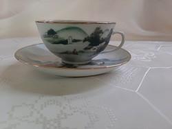 Japán porcelán teáscsésze aljjal /  2589