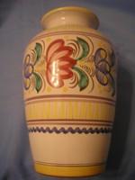 U12 Habán jelzett váza,formaszám,körpecsétes ritkaság 20 cm