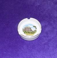 Ausztria Baden Beethoventempel emlék porcelán dísz hamutál átm. 6,5 cm (1/p)