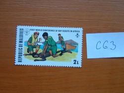 MALDÍV-SZIGETEK 1973, Nemzetközi Cserkészkongresszus, Nairobi és Addisz-Abeba  C63
