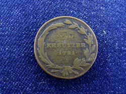 Ausztria II. József 1 Krajcár 1781 A/id 4418/