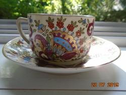 1889 Royal Austria Gutherz Oscar és Edgar IZNIKI gránátalma virág mintás teás szett