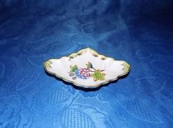 Herendi porcelán tálka 9*13 cm hibás
