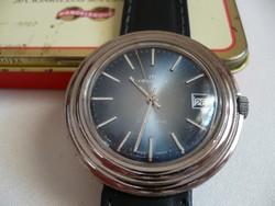 Helvetia egy nagyon ritka és különleges automata óra Svájcból az 1970-es évekből